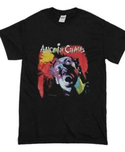 1990 Vintage Alice in Chains Facelift Tour T Shirt