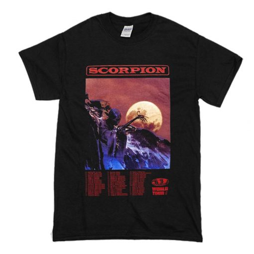 Drake Scorpion World Tour T-Shirt